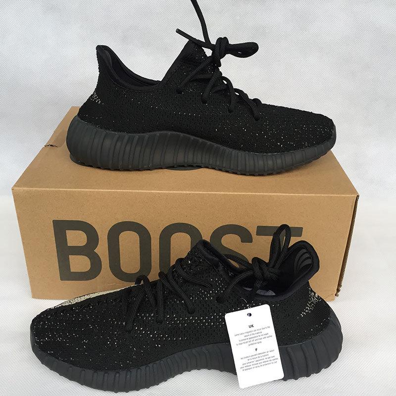 YEEZY BOOST 350 V2 1:1 BLACK - WHITE